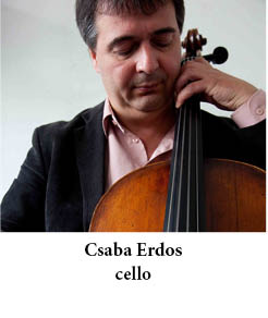 Csaba Erdos cello