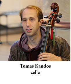 Tomas Kandos cello