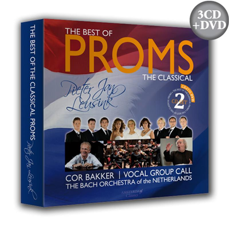 The Best of the Classical Proms - Vocal Group CALL (2CD+DVD)