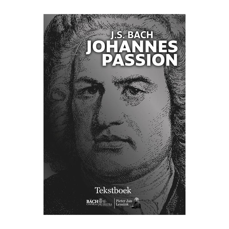 Johannes Passion Tekstboek