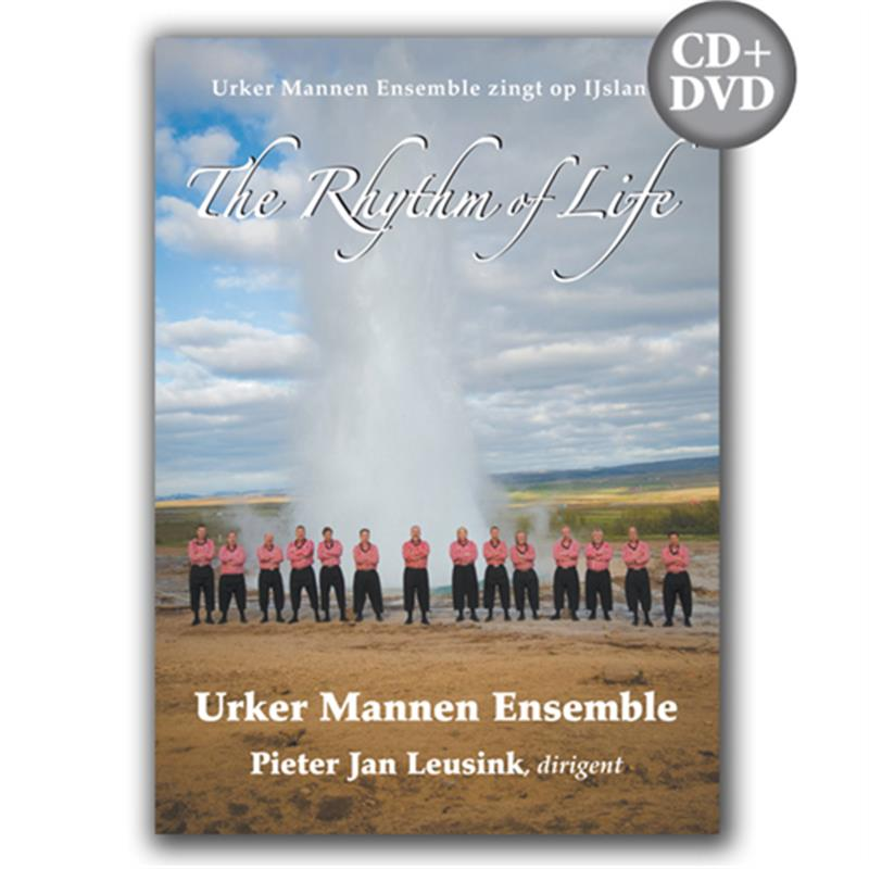 The Rhythm of life (DVD+CD) Urker Mannen Ensemble