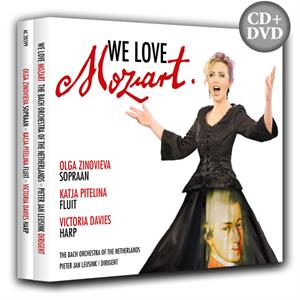 We Love Mozart CD en DVD