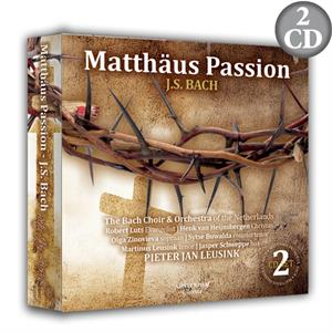 Matthäus Passion - J.S. Bach (2CD) The Bach Choir & Orchestra