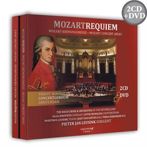 Requiem & Krönungsmesse - W.A. Mozart (2CD + DVD) The Bach Choir & Orchestra of the Netherlands